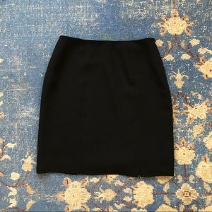 Cache Black Zipper Mini Skirt 6